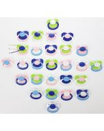 Grosser Schnuller für Erwachsenen, Verschiedende Farben