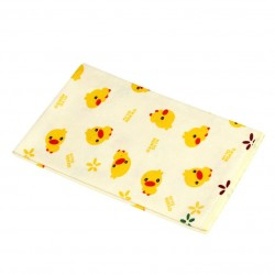 Cotton Printed Washable Seat Protector With TPU Backing, 50x40cm