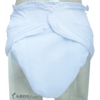 White Washable Velcro Incontinence Diaper (CD434W) €24.95