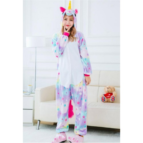 Fleece Kigurumi - Rainbow Unicorn (KL370RU) €27.50