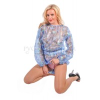 AB PVC Romper with Poppers in Crotch, Multicolor (KL348) €57.50