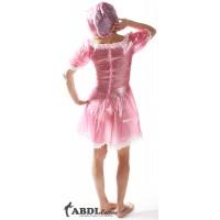 Sissy Bo Peep Dress Pink Polkadot PVC, Ladies (KL319L-2) €62.50
