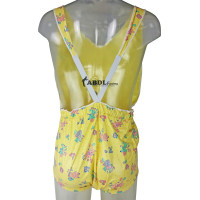 AB PVC Dungeree Pants without Legs, Yellow Print (KL321GP-2) €40.50