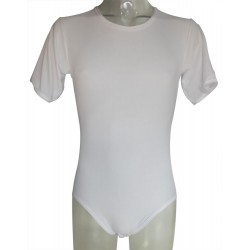 White Body With Short Sleeves