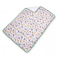 Change Pad with Safari Print, 100x73cm