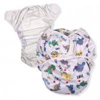 Adult Swim Diaper with Print