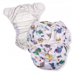 Adult Swim Diaper, Dinosaur Print