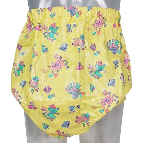 Extra Deep Pull-On Printed Plastic Pants (PB228) €31.50