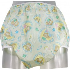 PVC Pants Soft Elastics, Sleepy Bear Print