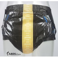 Tykables PLeather, Leather Insprired Print Diapers, 10 Pack (PL751-1) €19.95