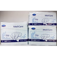 Molicare Slip Maxi, Blue Plastic Backed, 14 Pack