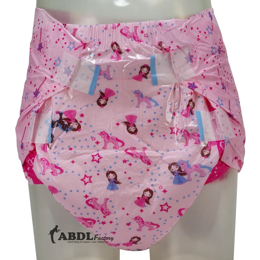 Rearz Pink Princess, Crazy Absorbent, Plastic Backed
