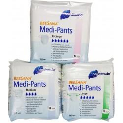 Beesana Medi-Pants, Cotton-Feel, 14 Pack