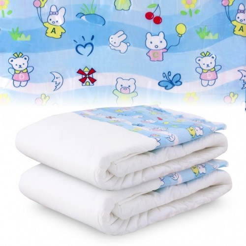 Bambino Bellissimo, Plastic Backed Printed Diapers (PL750B) €20.95