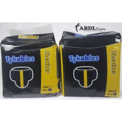 Tykables PLeather, Leather Insprired Print Diapers