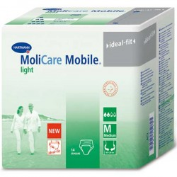 Molicare Mobile Light, Cotton-Feel, Pants, 14 Pack