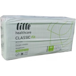 Lille Classic Fit Slip Extra, Plastic Backed, 28 Pack
