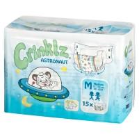 Crinklz ASTRONAUT Print Slip Diapers, Plastic Backed (PL809) €17.95