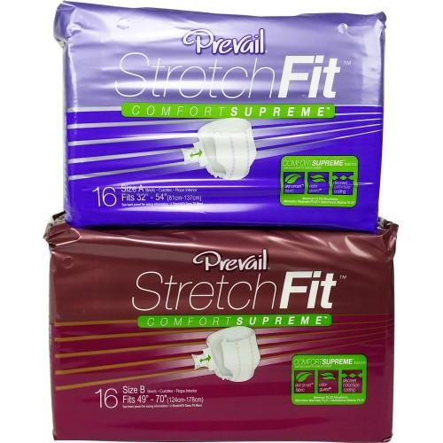 Prevail Maximum Stretchfit Slip Diapers, Cotton-Feel (PL194) €14.50