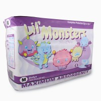 Rearz Lil Monsters, Plastic Backed Print Diapers (PL810) €21.55
