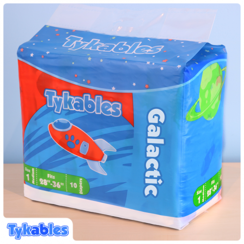 Tykables Galactic, Plastic Backed (PL106GA) €24.50