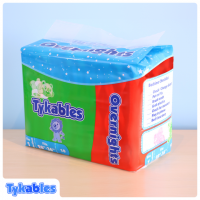 Tykables Overnights, Plastic Backed