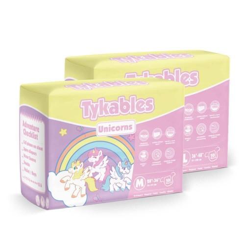 Tykables Unicorns, Plastic Backed (TYKUNI) €24.50