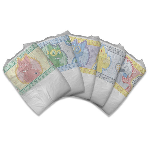 Tykables Camelots, Plastic Backed (PL106CA) €27.50