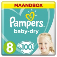 Pampers Size 8, Monthbox 100 psc.