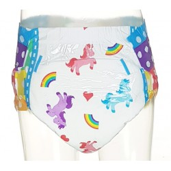 Dotty PRIDE Diapers 2.0, Plastic Backed