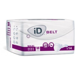 ID Expert Belt Maxi, Cotton-Feel, 14 Pack