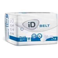 ID Expert Belt Plus, Cotton-Feel, 14 Pack