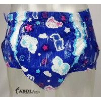 MyDiaper Night BLUE, Plastic Backed, 10 Pack (PL115B-1) €14.95