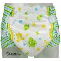 Sexy Adult Diapers, Plastic Backed, 10 Pack (PL115S-1) €14.95