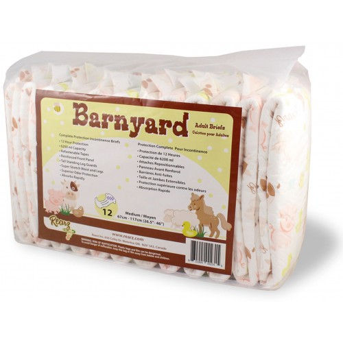 Rearz Barnyard Diapers, max 6200ml