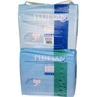 Flufsan Super Night, Plastic Backed, 15 Pack (PL149-1) €14.95