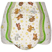 Crinklz Adult Diapers with Print, Plastic Backed (PL173) €17.95