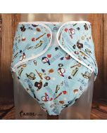 Thick Washable Velcro Incontinence Diaper