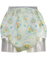 PVC Pants Soft Elastics, Sleepy Bear Print