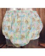 Gary PVC Pants with Honey Bear Print