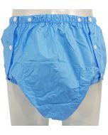 PVC Plastic Pants with Snaps