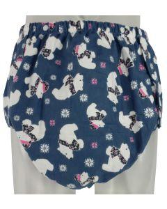 Washable Snap-on Cloth Diaper, Multi Print