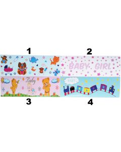 AB Diaper Stickers Half A4 Format, Different Styles