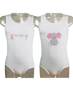 Baby or Elephant print to apply on your own garment