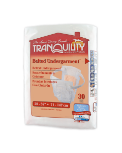 Tranquility Belted Undergarment,Cotton-Feel,30 Pack