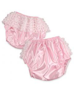 Roze Satijnen Rhumba Waterdicht Slipje